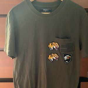 Forever 21 Mens Lion shirt
